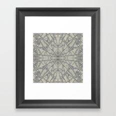 SnowFlake #2 Framed Art Print