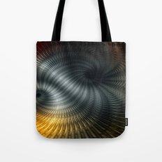 Metallic Spin Tote Bag