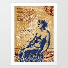 virgo | jungfrau Art Print