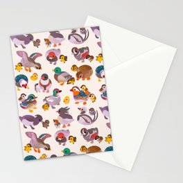 Duck and Duckling Stationery Cards