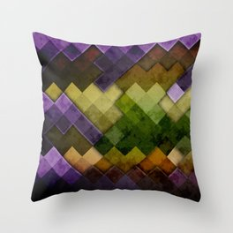 Abstract Cubes GYP Throw Pillow