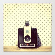 Vintage Camera Love: Kodak Hawkeye Flash! Canvas Print