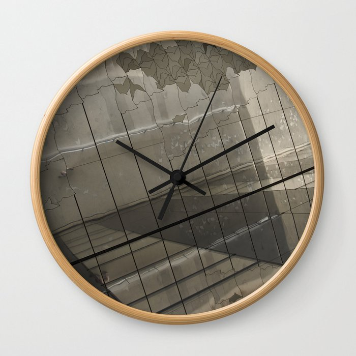 Pattern from Paris Wall Clock