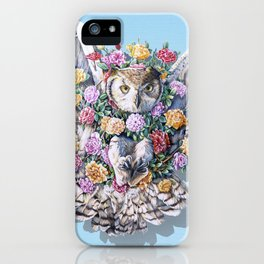Birds in Bloom iPhone Case