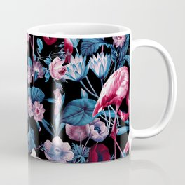 Floral and Flamingo VIII Coffee Mug