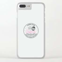 Boyband Clear iPhone Case