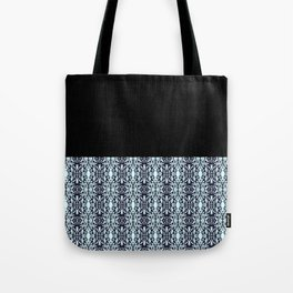 Paris Mozaic Pattern Tote Bag