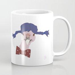 Spunky Turkey Purple Hair Coffee Mug