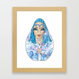 VanMoon Mala Framed Art Print