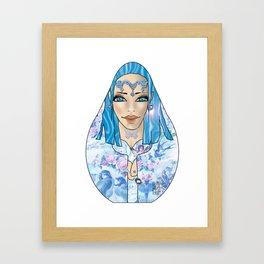 VanMoon Mala Framed Art Print