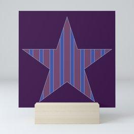 Joseph Joestar Pattern Mini Art Print