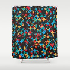Semi Circ Shower Curtain