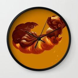 Chocolate&Hazelnut Wall Clock