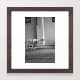 sit still  Framed Art Print