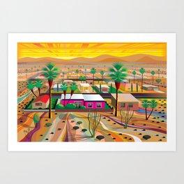 Twentynine Palms Art Print