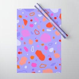 Sweet Terrazzo Cherries Wrapping Paper