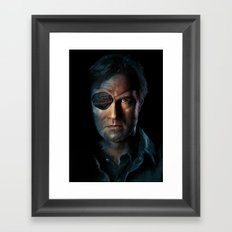 The Walking Dead - The Governor Framed Art Print