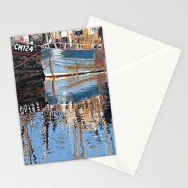 Reflections of Porthleven Harbour  Stationery Cards