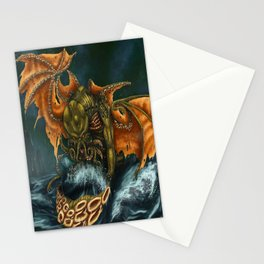 That is Not Dead Which Can Eternal Liw Stationery Cards