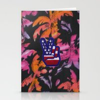 american Stationery Cards featuring American by jajoão