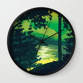 My Nature Collection No. 3 Wall Clock