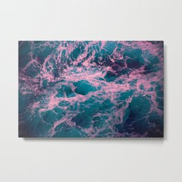 Living Ocean v3 Metal Print