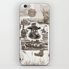 Country Western iPhone Skin