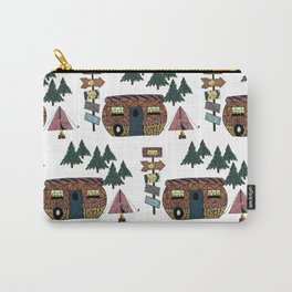 Camping we go Carry-All Pouch