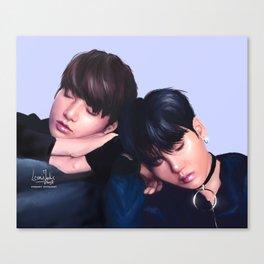 BTS Yoonkook / Sugakookie Canvas Print