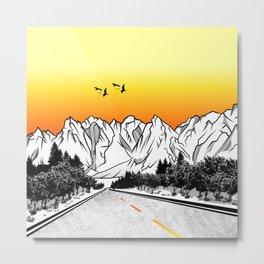Passu Cones Karakoram Highway Metal Print