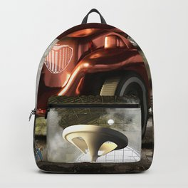 Giant Toy Car Backpack