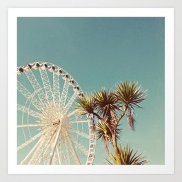 The Height of Summer Art Print