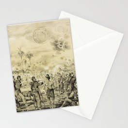Adolf Methfessel - The Taking of Loma Valentina in the War of the Triple Alliance (1871) Stationery Cards