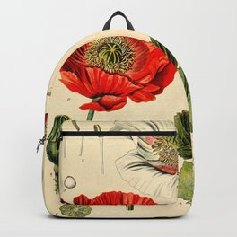 Poppy picture from 1900 Backpack