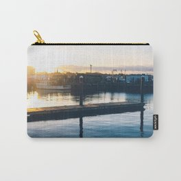 Sunrise from the Shipyard Carry-All Pouch