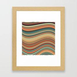Calm Summer Sea Framed Art Print