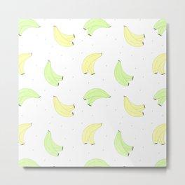 Plátano de Canarias Metal Print