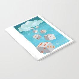 Raining Dice Notebook