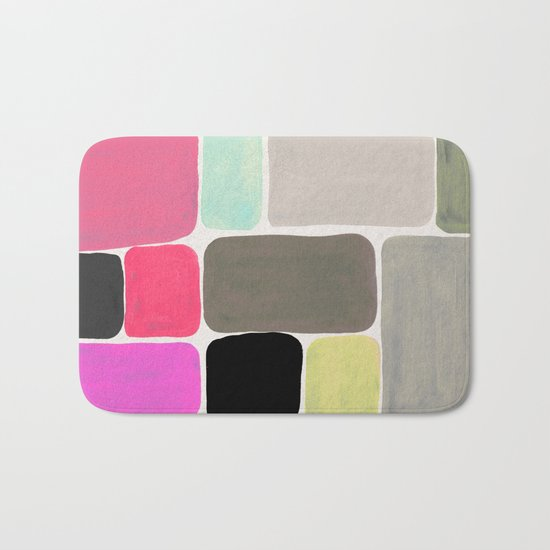 colour + pattern Bath Mat