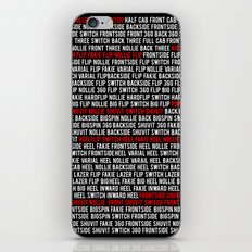 This is Flatground Only iPhone & iPod Skin