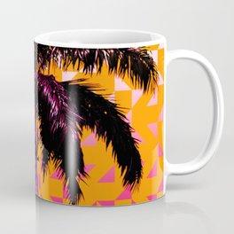 Palm Tree (Orange Pink) Coffee Mug
