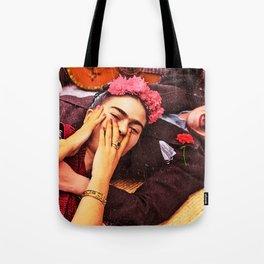 VIDA Tote Bag - Serious Prayer Tote by VIDA
