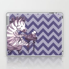 Typin' Stripes Laptop & iPad Skin