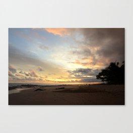 Sunset in Santa Teresa 2 Canvas Print