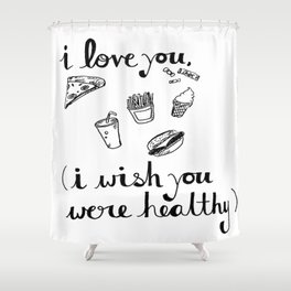 Health Problems Shower Curtain