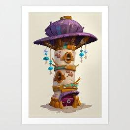 Tower House Art Print