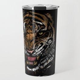 Tiger Face (Signature Design) Travel Mug