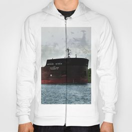 Mesabi Miner freighter and Stats Hoody