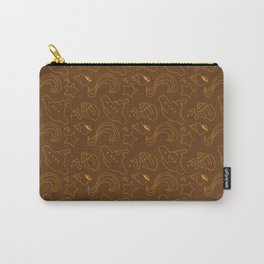 Brown and orange subs Carry-All Pouch