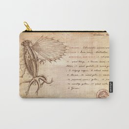 Miskatonic surgery - Elder Thing  (Vetusincola echinomorpho) Carry-All Pouch